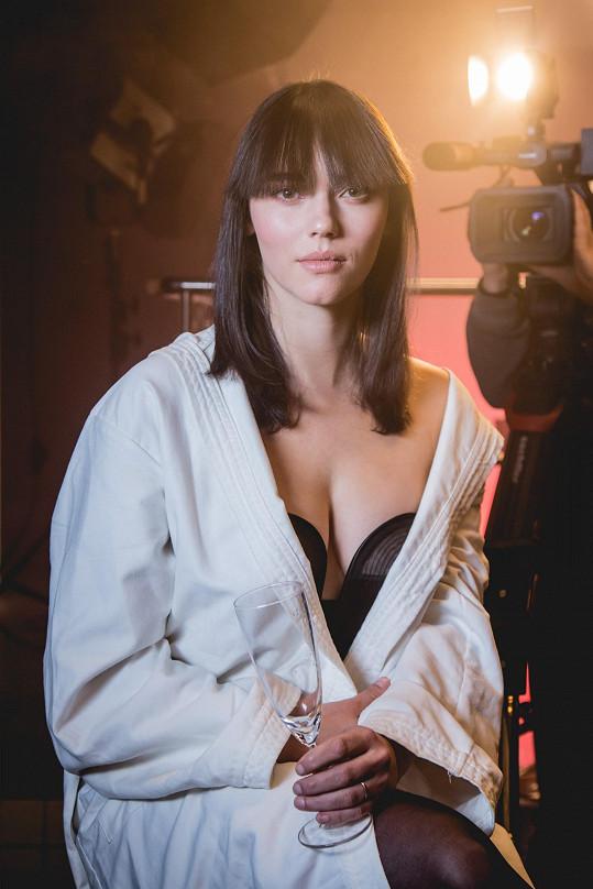 Klára Miklasová je hvězdou filmu Daria.