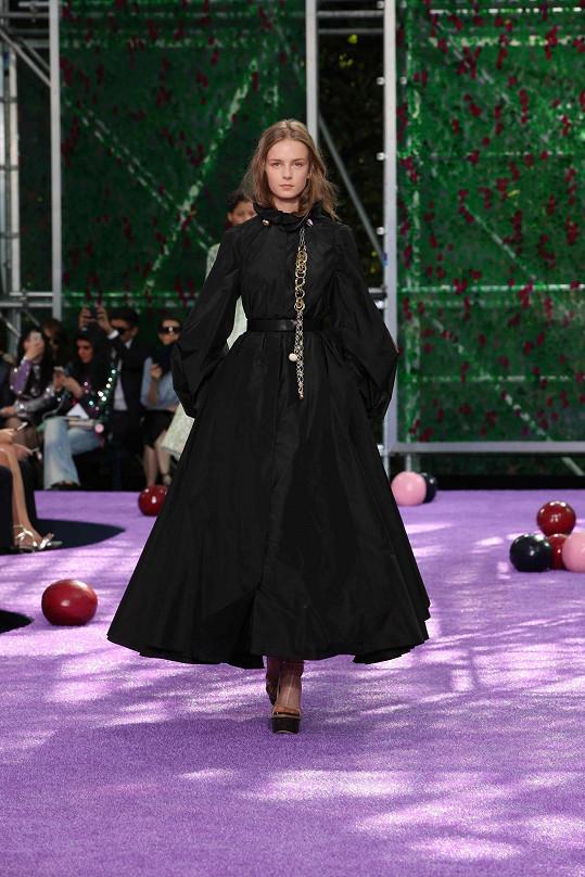 Slovenka Barbora Koláriková rovněž na přehlídce Dior