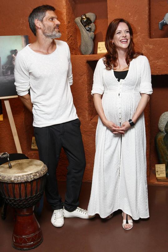 Andrea s manželem Mikolášem Růžičkou