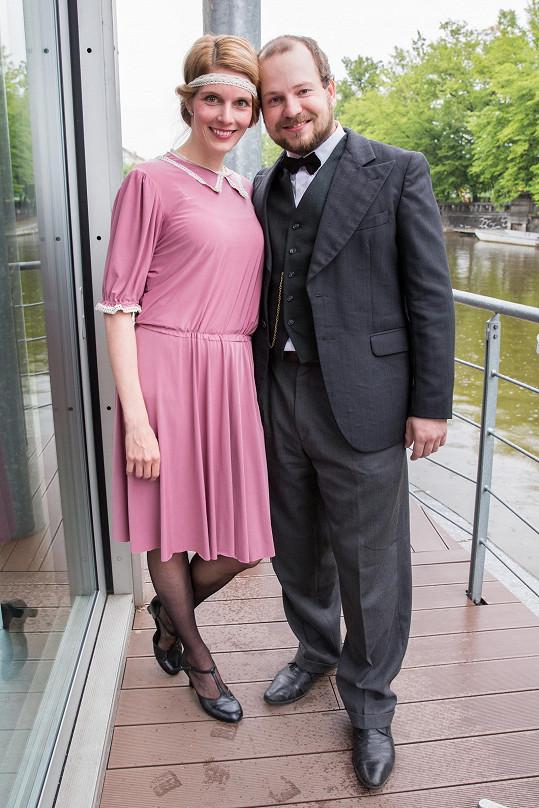 Henriera Hornáčková má dceru Babetku s hudebníkem Honzou.