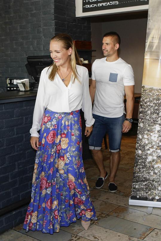 Lucie Vondráčková a Tomáš Plekanec se rozvádí.
