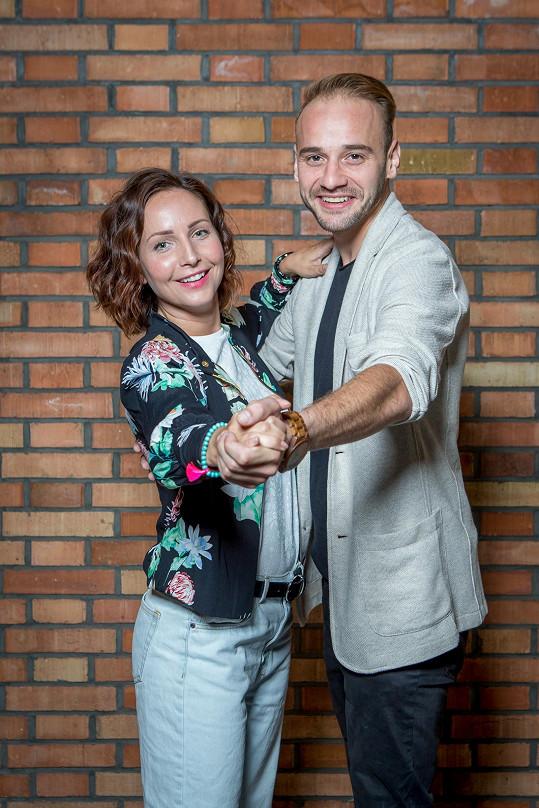 Veronika Arichteva už pilně trénuje s tanečníkem Michalem Necpálem.