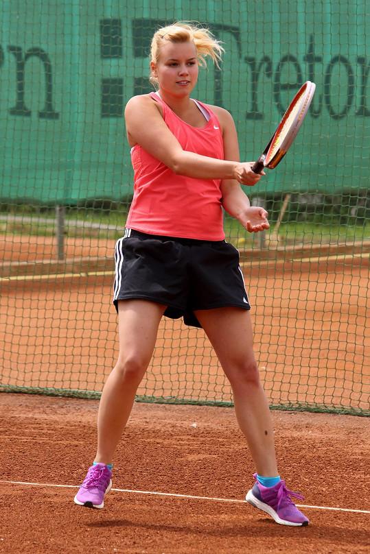 Patricie Solaříková pravidelně sportuje.