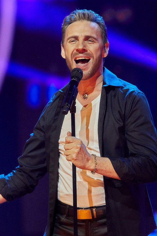 Roman Vojtek jako Ricky Martin