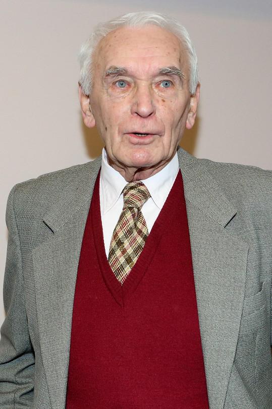 Svatopluk Matyáš letos v říjnu oslaví 91. narozeniny
