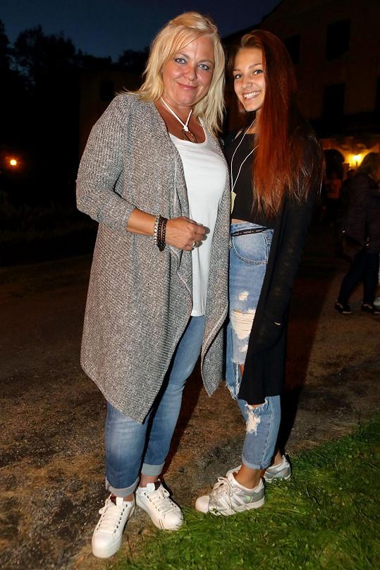 Markéta Mayerová s dcerou Agátou