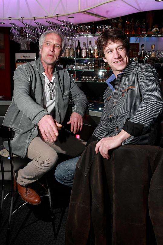 Tomáš Hanák a Martin Kraus