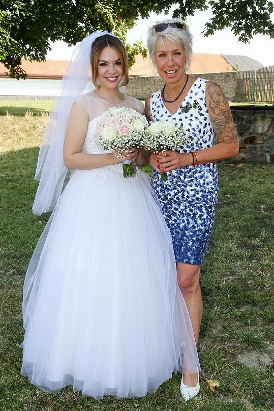 Marcela vdala svou dceru Vandu.
