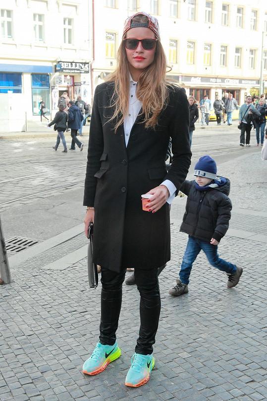 Misska Zuzana Jandová se na skok objevila v Česku.
