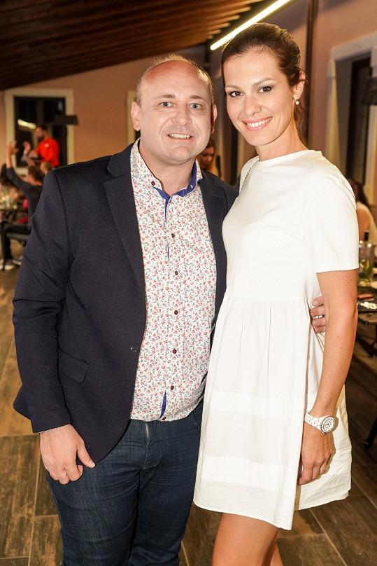 S ředitelem soutěže Davidem Novotným