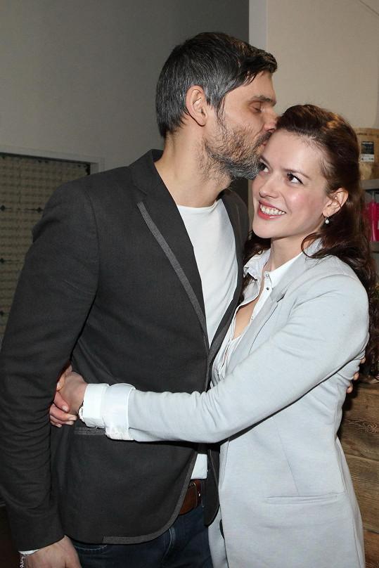 Andrea s přítelem Mikolášem Růžičkou