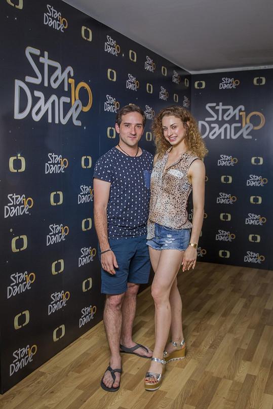 Matouš Ruml bude tančit s Natálií Otáhalovou.