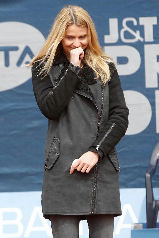 Lucie Šafářová se nedávno loučila v Praze s kariérou. Před pár dny následovala rozlučka v Paříži.
