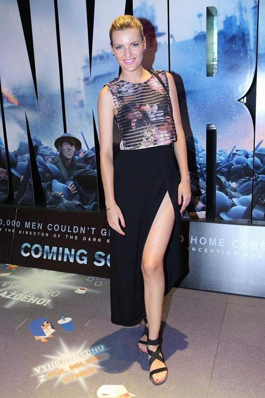Premiéru si nenechala ujít ani Veronika Procházková.