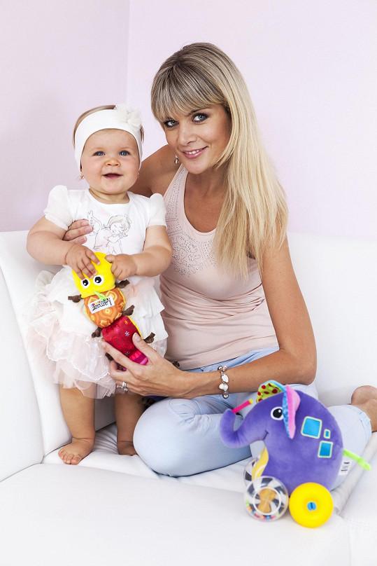 Dcera Anetka se jí narodila v roce 2013.