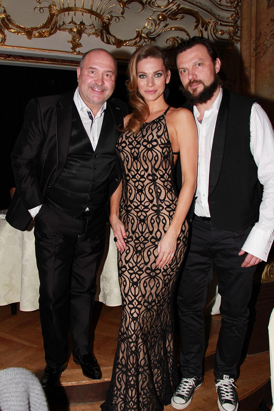 S Michalem Davidem a Tomášem Ujfalušim