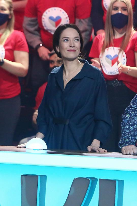 Herečku jsme vyzpovídali po natáčeni pořadu Máme rádi Česko, kde byla hostem.