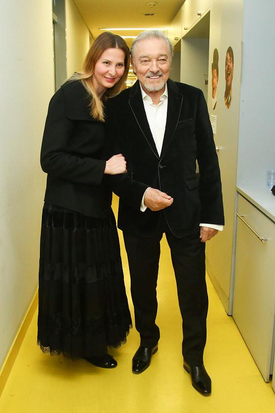 Gott s manželkou Ivanou