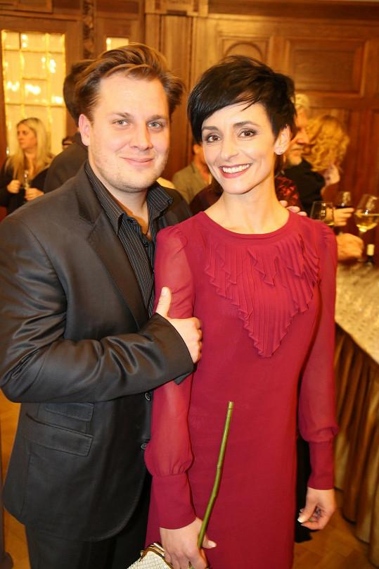 Savka s manželkou, baletkou Zuzanou Pokornou