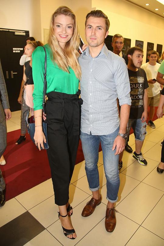 Tereza Křivánková s novým přítelem Tomášem