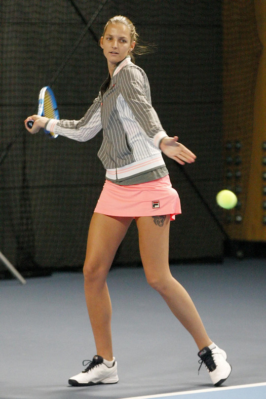 Je čtvrtou ženou světového tenisu.