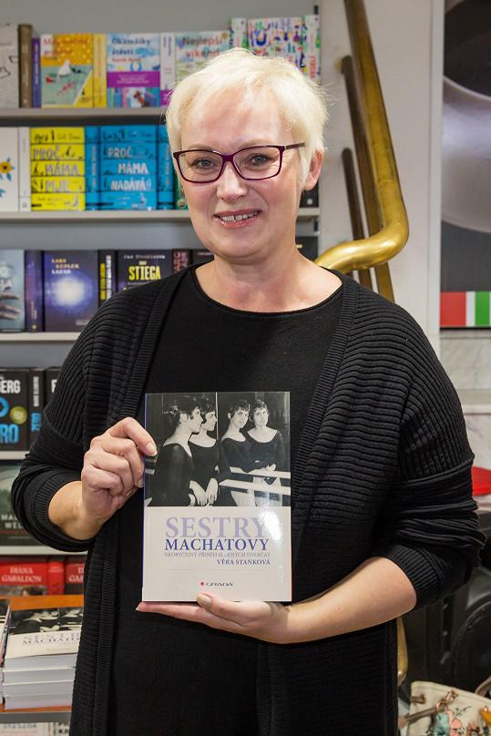 Zuzana Slavíková na křtu knihy překvapila radikální změnou.