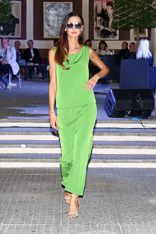 Eliška na módní show v Teplicích