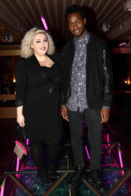 Dannie se s přítelem Albertem poprvé objevila na párty v klubu Playboy lounge.