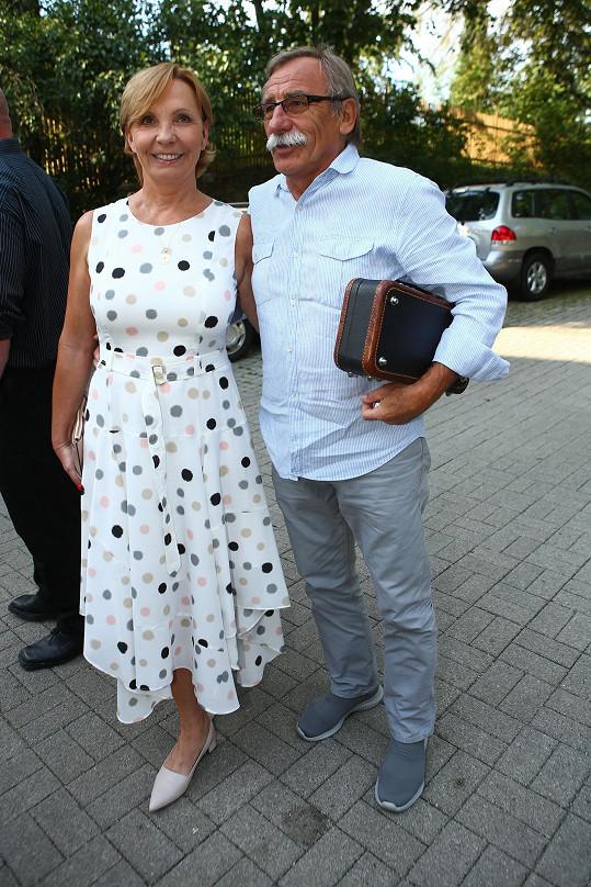 Pavel Zedníček s manželkou