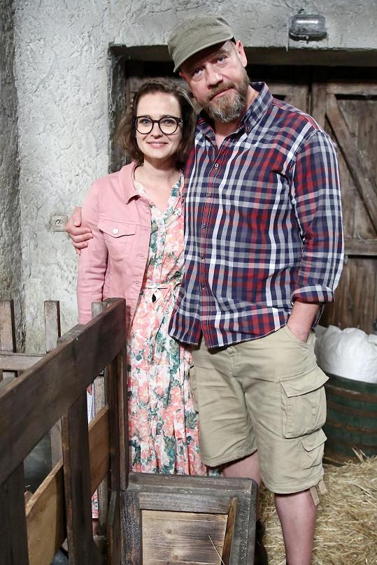 Kristýna Kociánová a Filip Blažek se potkali mimo jiné v seriálu Slunečná.