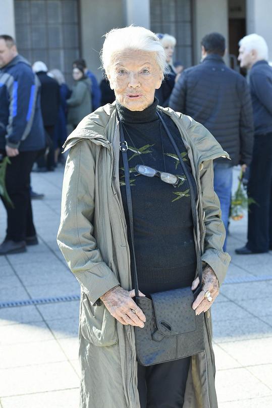 Zdenka Procházková hrála v Renčově filmu Lídu Baarovou. A osobně ji znala.