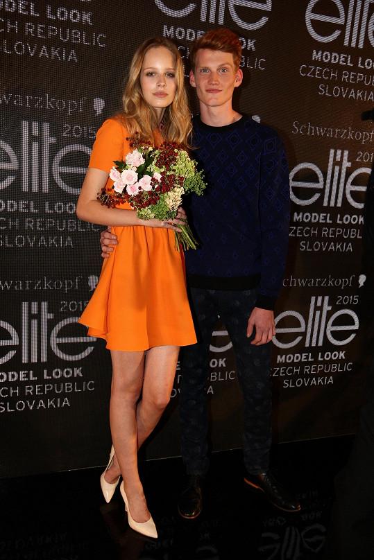 V roce 2015 stanula na stupni vítězů v soutěži Schwarzkopf Elite Model Look.