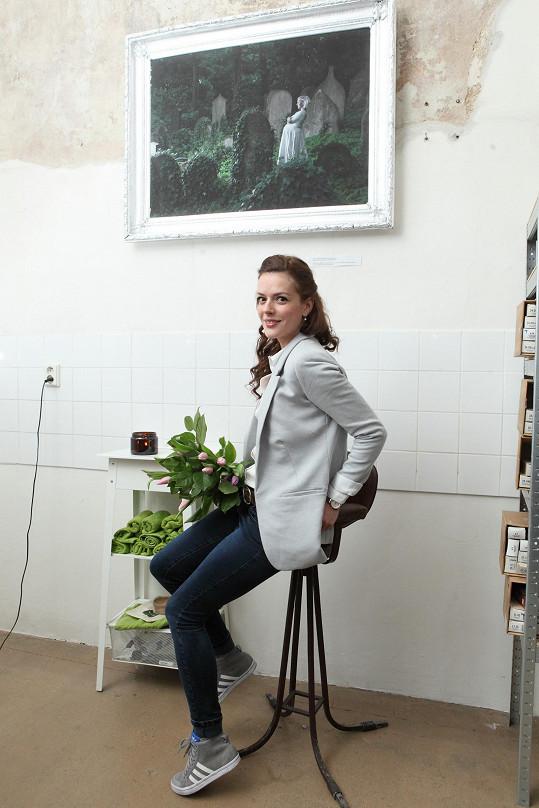 S Kerestešovou jsme si povídali na znovuobnovení její výstavy fotografií Syndrom, která se stala prodejní.