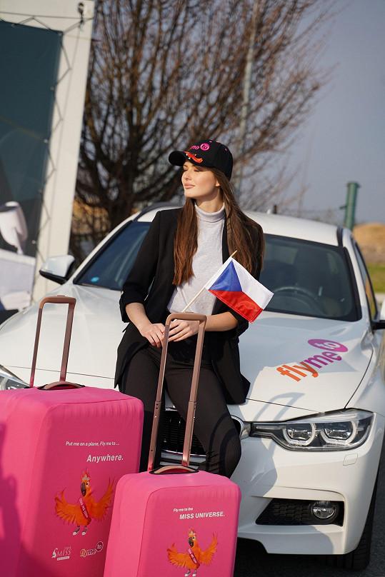 Modelka musela na 14 dní odletět do Dominikánské republiky.