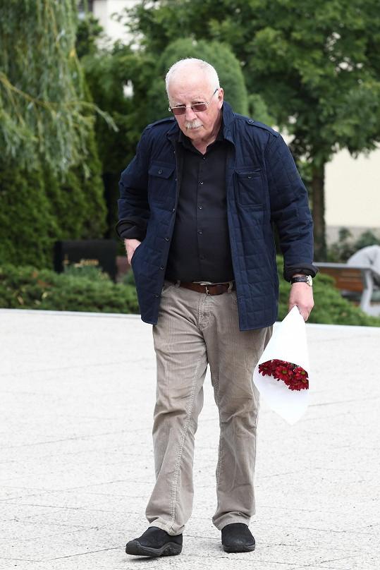 Jiří Datel Novotný na poslední fotce z 30. června 2017