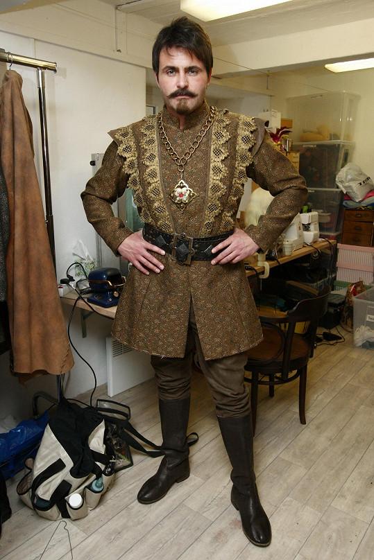 Mirek Šimůnek získal roli krále.