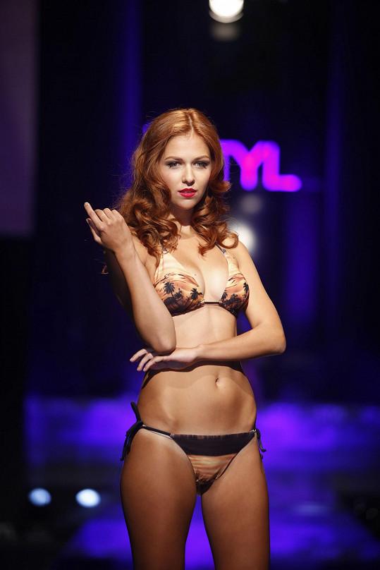 Lucie Kovandová byla v prádle úchvatná.