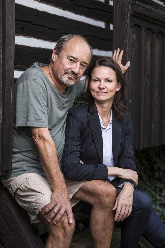 Setkání s Viktorem Preissem před kamerou bylo pro Kláru Melíškovou opravdovým zážitkem.