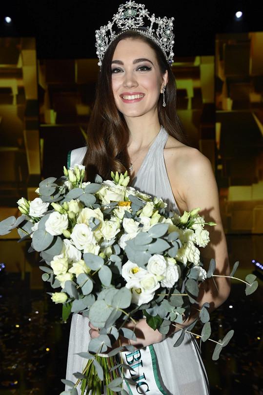 Denisa Spergerová bude Česko reprezentovat na Miss World.