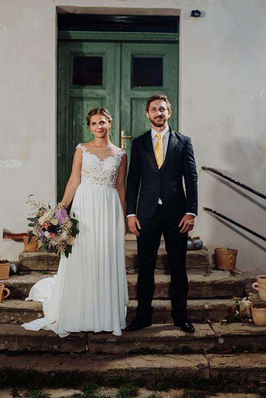 S nevěstou Petrou v show Svatba na první pohled