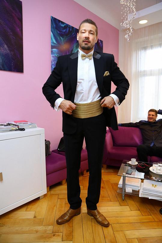 Režisér Petr Jákl si po dlouhé době vyrazil s manželkou Romanou do společnosti - a ne ledajaké.