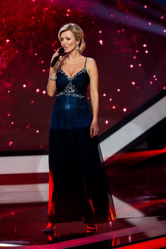 Kateřina Brožová zpívala píseň od Marie Rottrové.