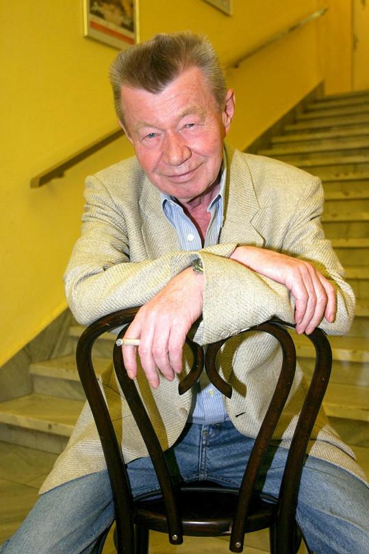 Václav Sloup trpěl ve stáří cukrovkou, bohužel nemoc neléčil, jak měl.