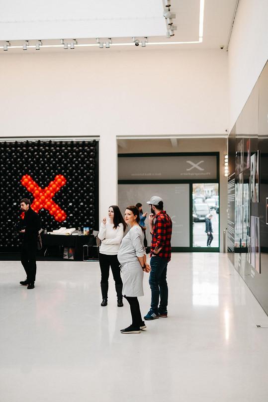 Výstava světových autorů, mezi které byla zařazená Andrea Růžičková či Lucie Robinson, potrvá v Mánesu do konce listopadu.