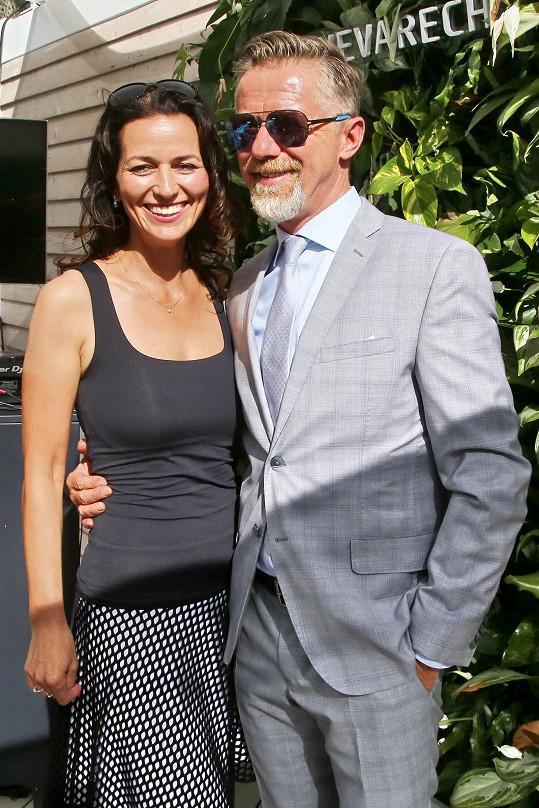 Adéla si s Jiřím Langmajerem začátkem léta řekla své ano.