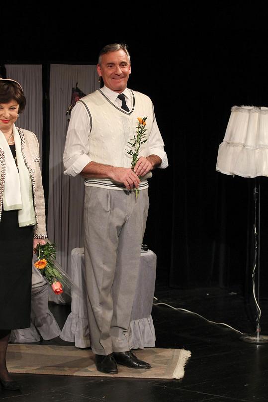 Květinu daroval i Jan Čenský.