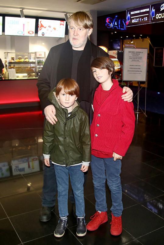 Čertí brko natočil režisér Marek Najbrt i pro své dva syny.