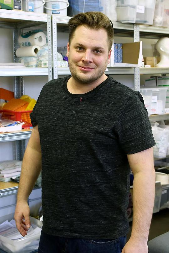 Tomáš Savka tráví poslední týdny s rodinou.