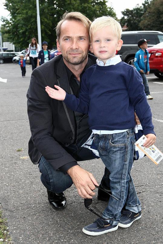 Jan Révai se synem Jakubem