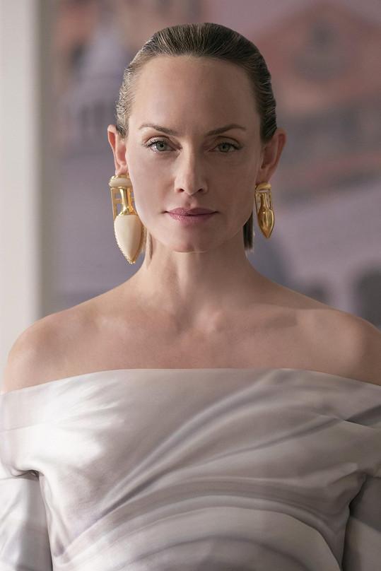 Americká herečka a modelka Amber Valletta